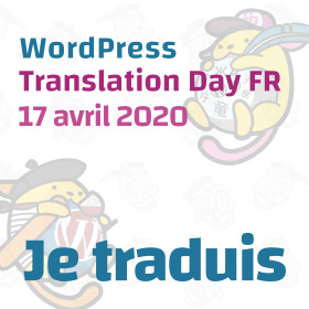 Badge WP Translation Day traducteur